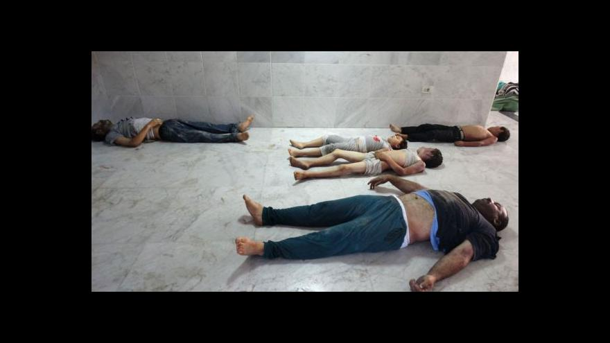 Video CNN zveřejnila záběry po chemickém útoku v Sýrii