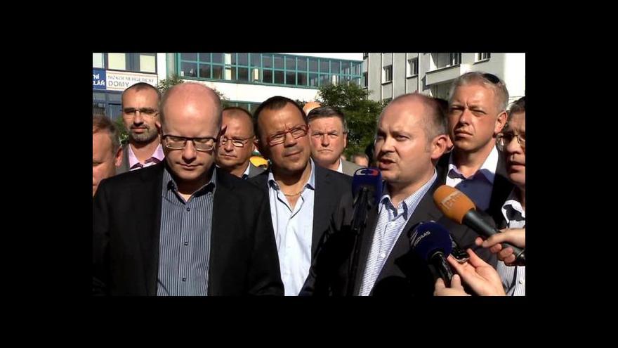 Video ČSSD v Ostravě zahájila kampaň