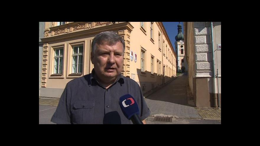 Video Hovoří starosta Vranova nad Dyjí Lubomír Vedra (nez.)