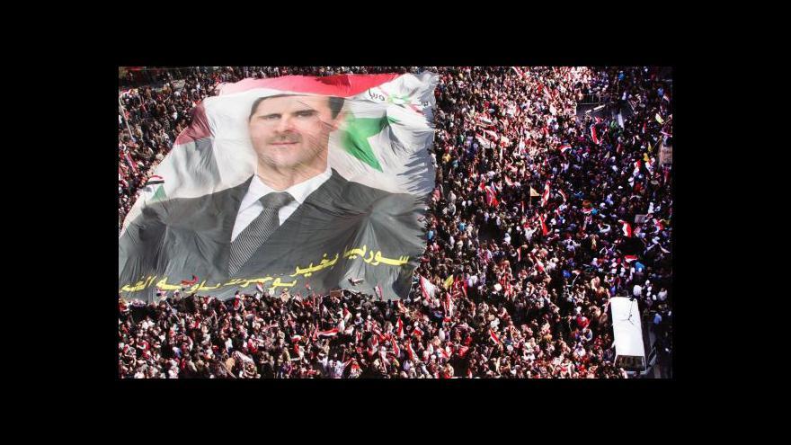 Video Syřané se připravují na útok Západu