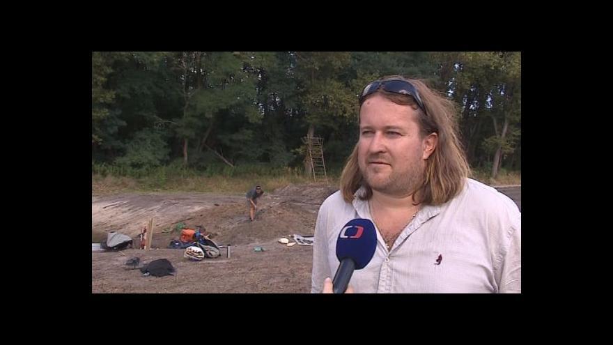 Video Hovoří vedoucí archeologického výzkumu Marek Lečbych