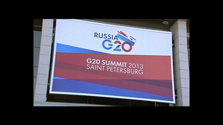 Video Summit G20 tématem Ekonomiky ČT24
