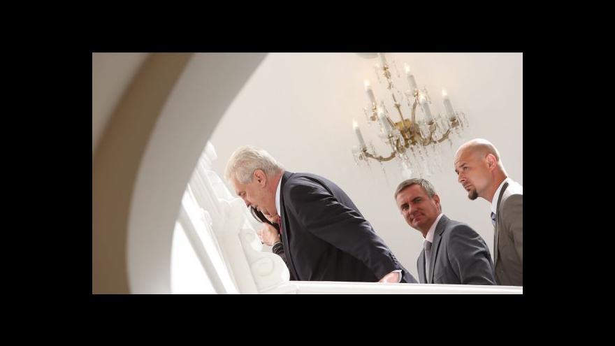 Video Půl roku Miloše Zemana na Hradě tématem Událostí