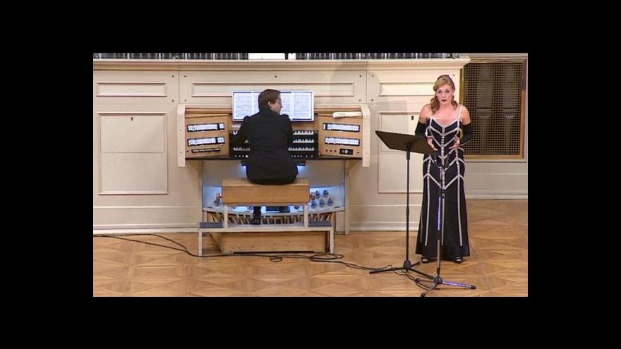 Video Ukázka z koncertu Magdaleny Kožené