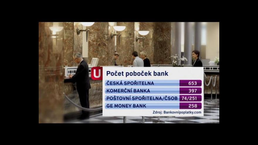 Video Banky na vesnicích mizí