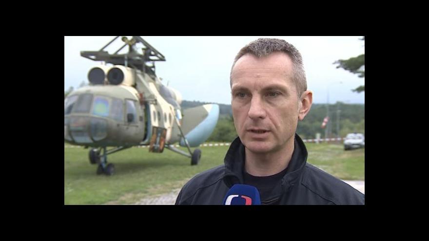 Video Hovoří vedoucí jihomoravské zásahové jednotky Zdeněk Frank