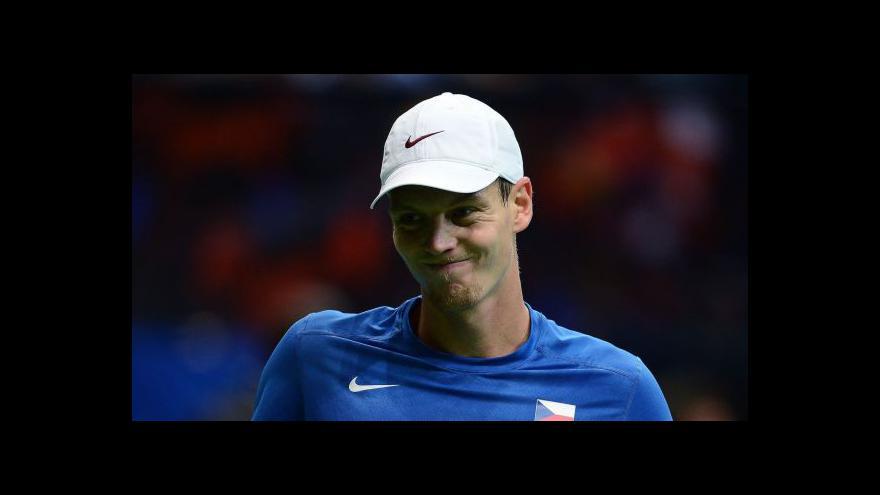 Video Češi vyzvou v Davis Cupu Argentinu