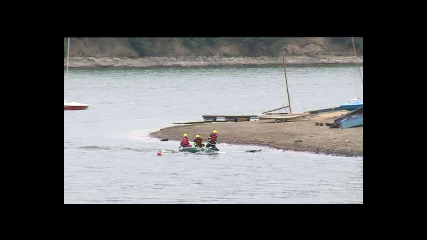 Video NO COMMENT: Pátrání na přehradě Křetínka