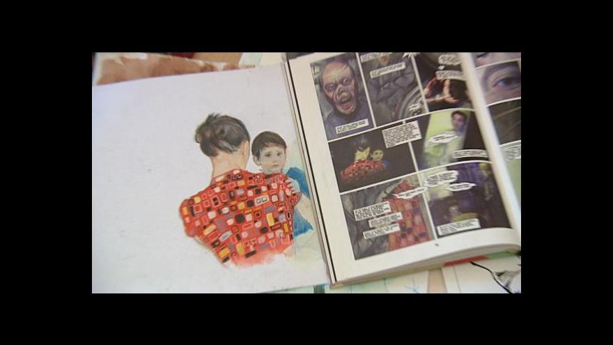 Video Vzniká komiks Moje kniha Vinnetou