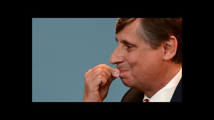 Video Fischer připravil návrh státního rozpočtu