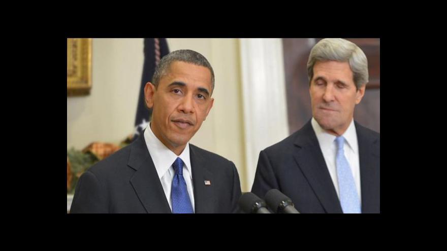 Video Obamovo jednání o Sýrii tématem Událostí
