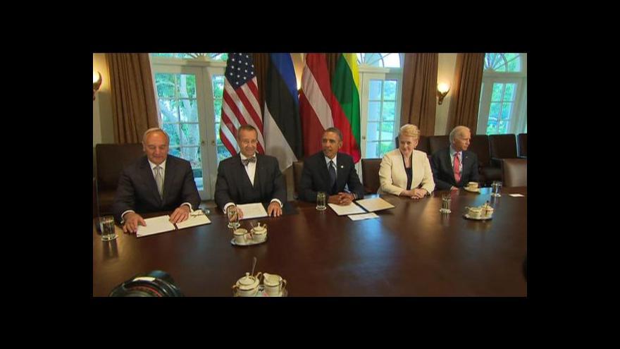 Video Obama žádá Kongres o souhlas k zásahu