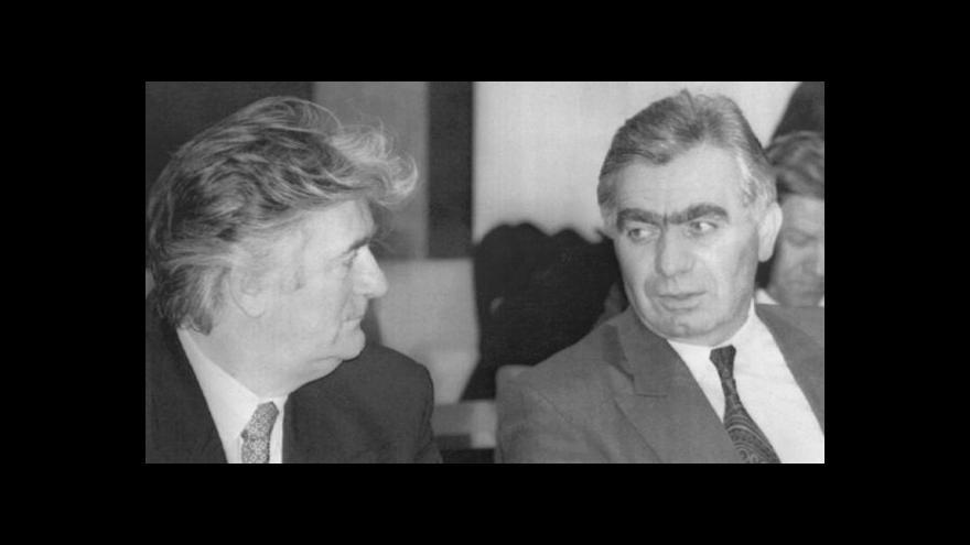 Video Momčilo Krajišnik se vrátil zpět do Bosny