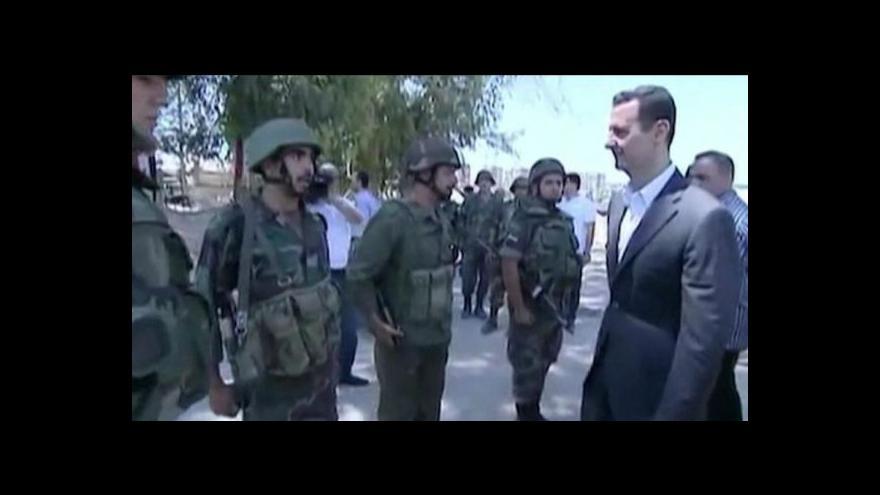 Video Napětí kolem Sýrie tématem Událostí