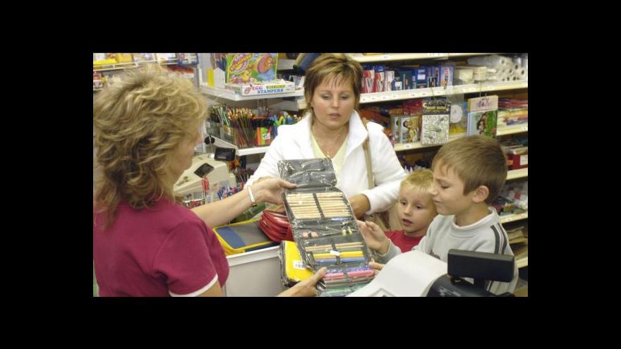 Video Školní nákupy na poslední chvíli