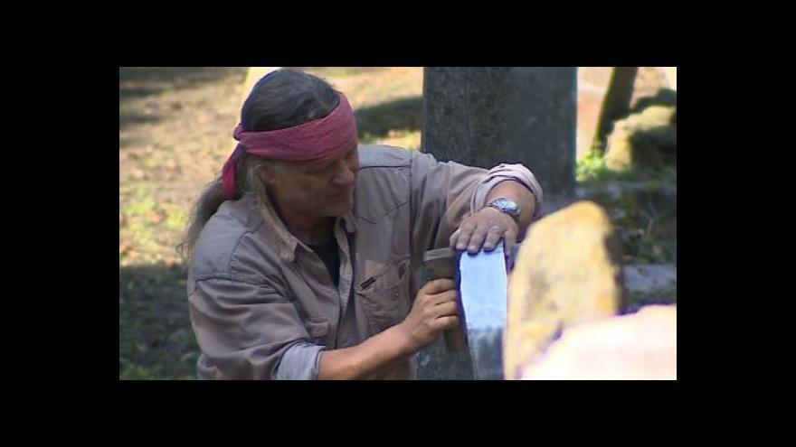 Video Restaurátor Přemysl Blažík o opravách židovského hřbitova