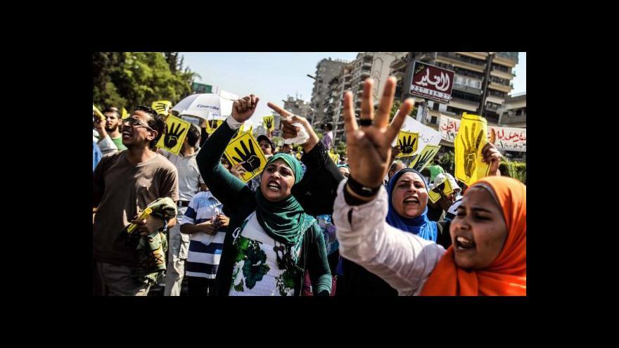 Video Káhira zažila další vlnu protestů