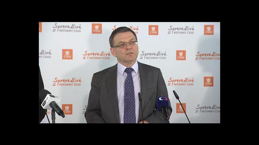 Video Brífink ČSSD ke zdravotnictví