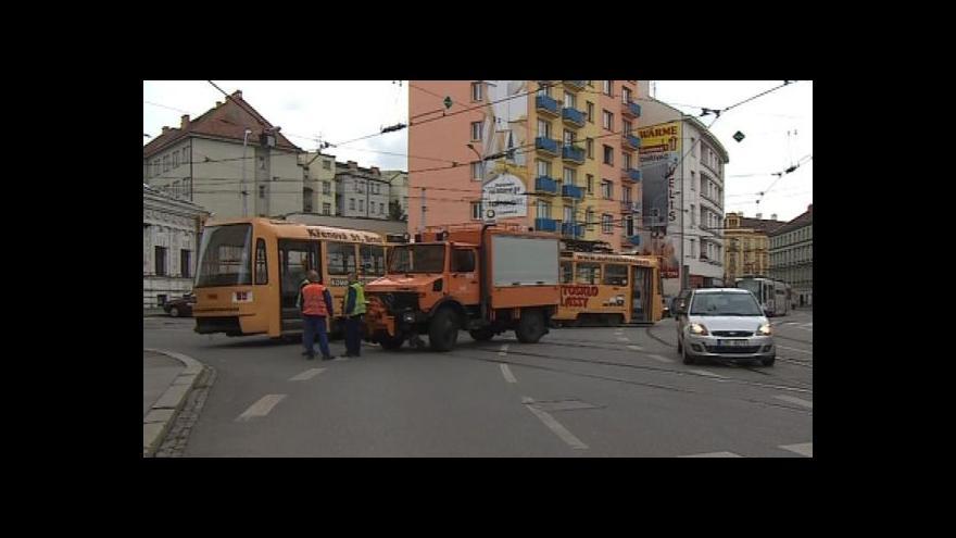 Video Mluvčí dopravního podniku Linda Hailichová o vykolejení tramvaje