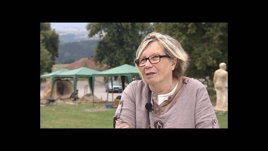 Video Hovoří kurátorka ateliéru Ludmila Pecková-Severová