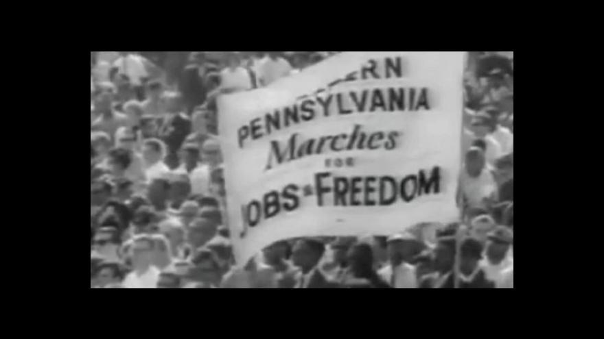 Video Vzpomínka na projev Martina L. Kinga