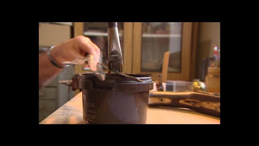 Video Umění restaurátorů: Sbírka zbraní v Horšovském Týně