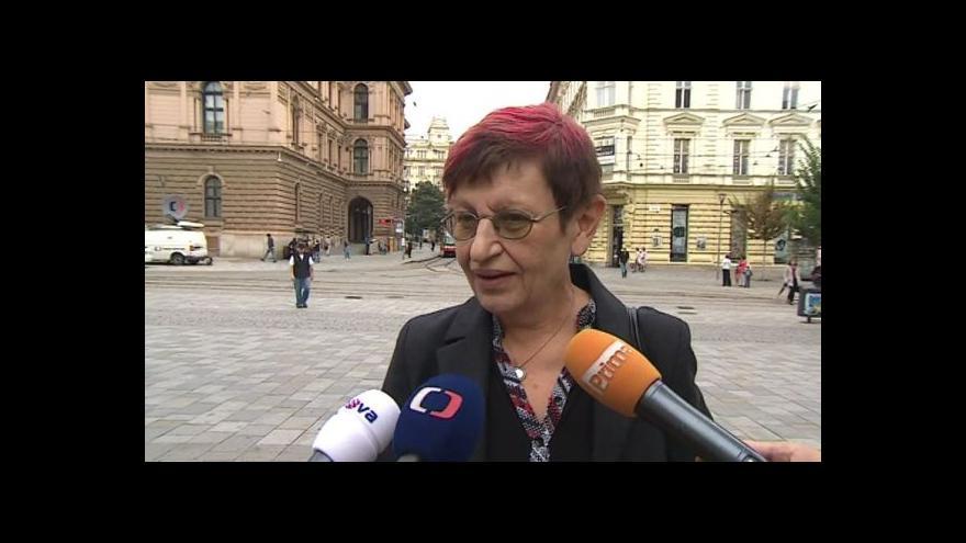 Video Reakce Ivany Königsmarkové na nález Ústavního soudu