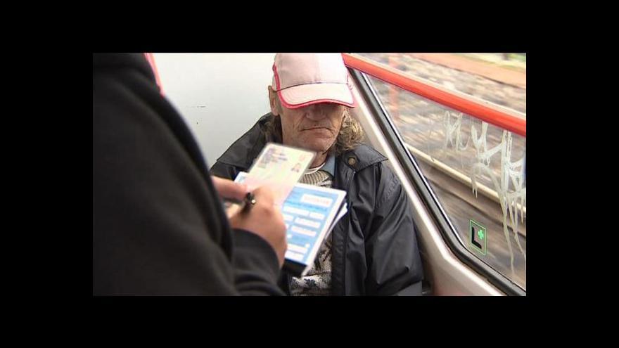 Video Vyšší pokuty pro černé pasažéry