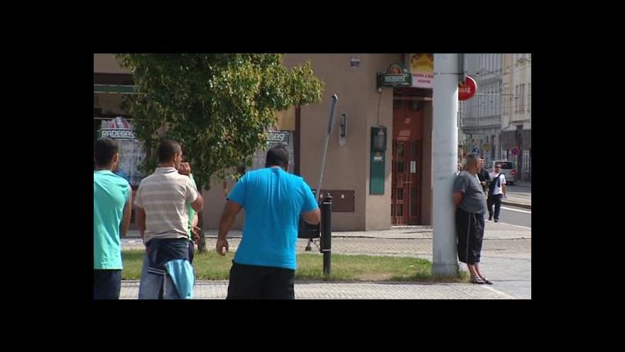 Video Události ČT24 o situaci po demonstraci extremistů v Ostravě