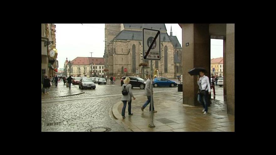 Video Lucie Pelanová o zklidnění dopravy v Plzni