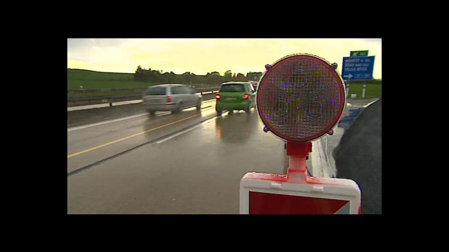 Video Ministr dopravy Zdeněk Žák o kontrole uzavírek