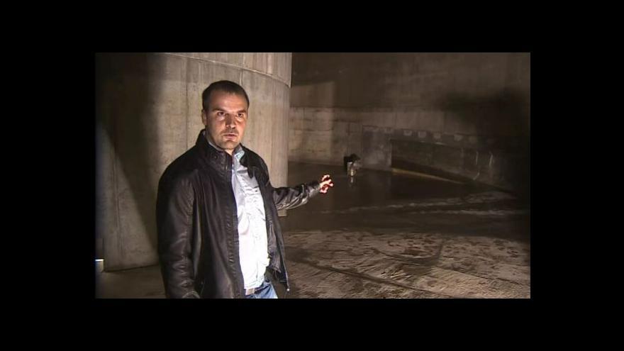 Video O nádrži hovoří stavbyvedoucí Martin Doubek