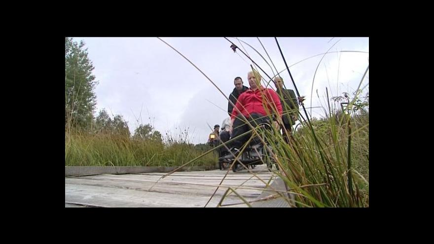 Video Zdeněk Mlnařík o bezbariérové Šumavě