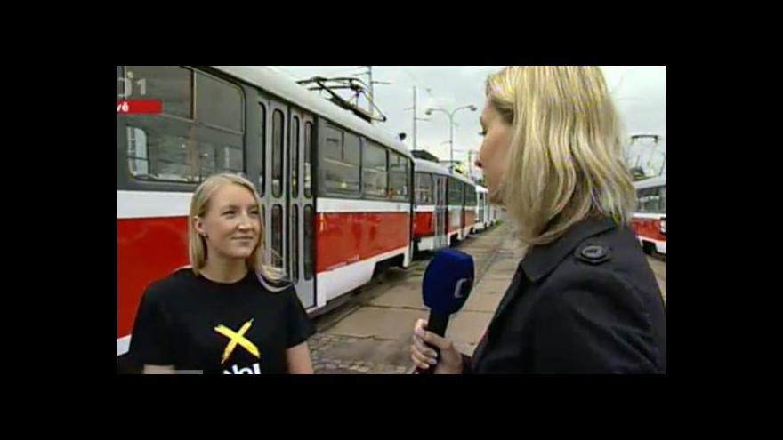 Video Rozhovor s mluvčí dopravního podniku Lindou Hailichovou