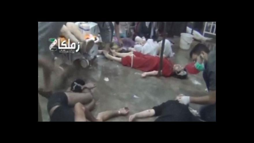 Video Události: Vojenská intervence v Sýrii?