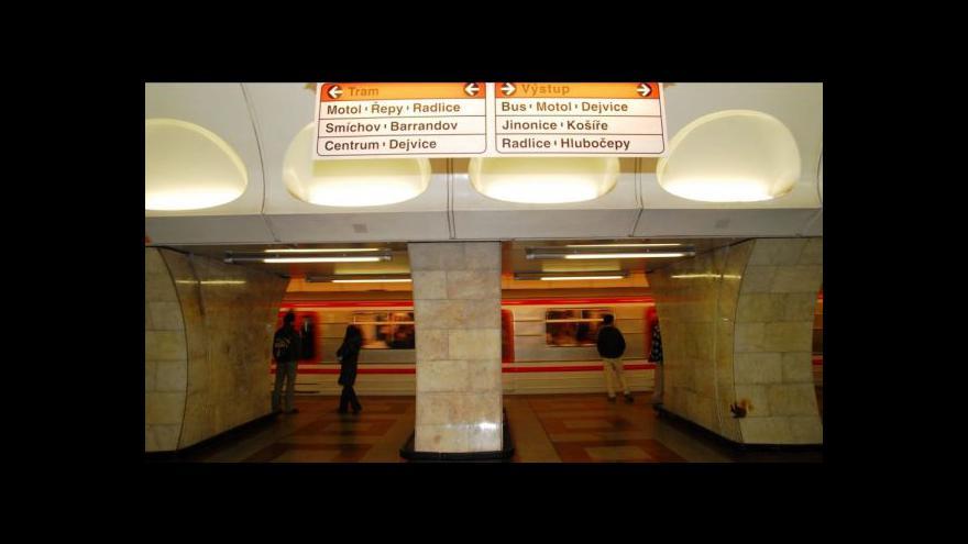 Video Události o natáčení v pražském metru