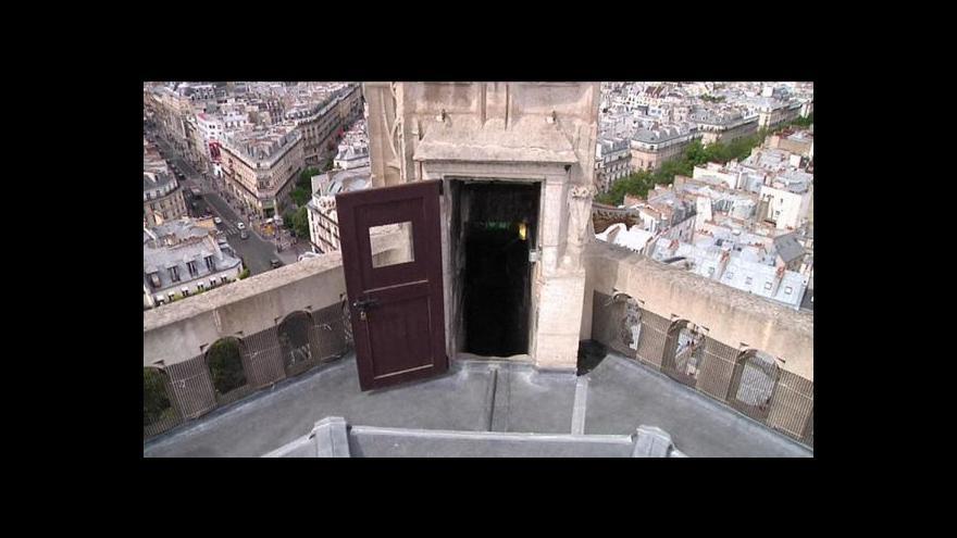 Video V Paříži zpřístupnili věž sv. Jakuba