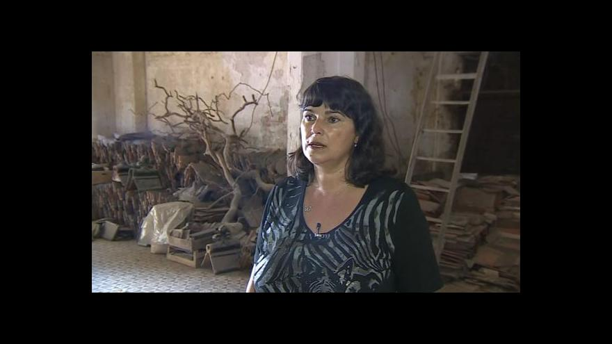 Video O židovské kapli hovoří historička Alena Káňová