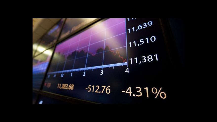 Video Bezpečnost obchodování na burzách tématem Ekonomiky ČT24
