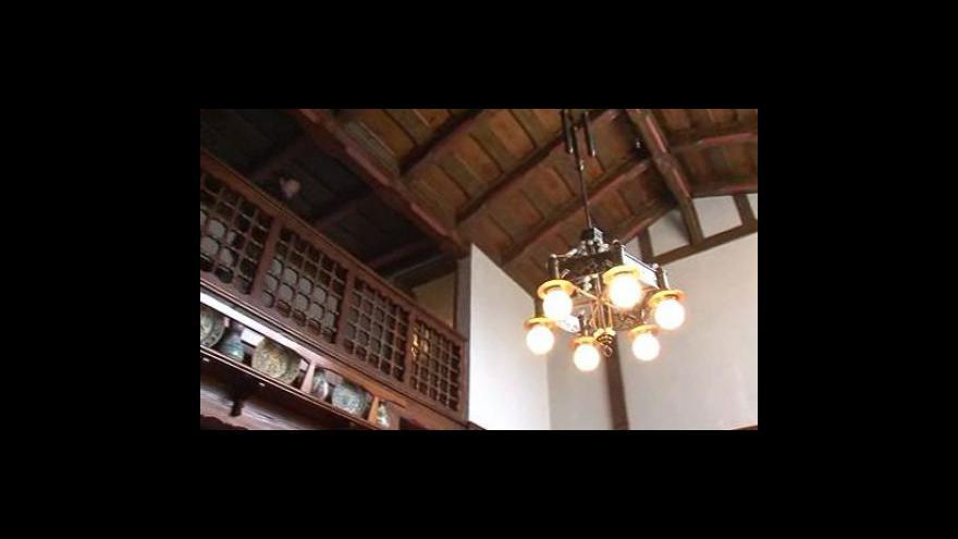Video Procházka Jurkovičovou vilou po rekonstrukci