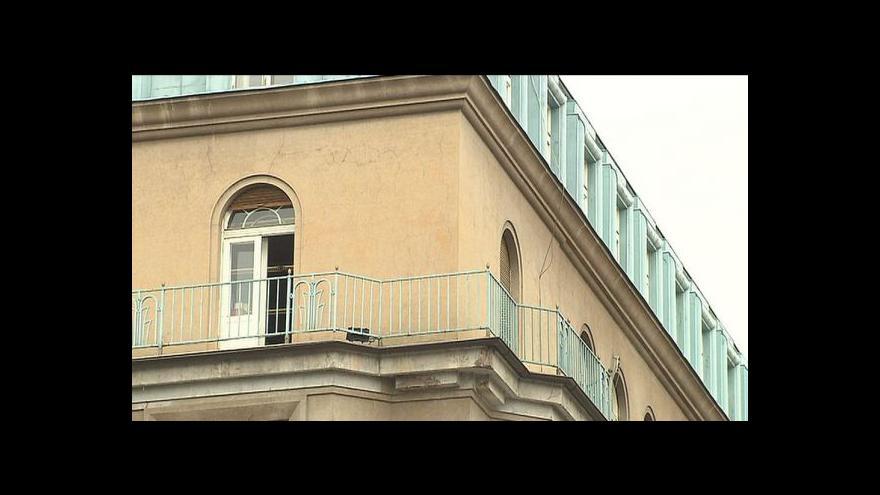 Video Majitel domu 47 na Václaváku žádá o povolení k demolici
