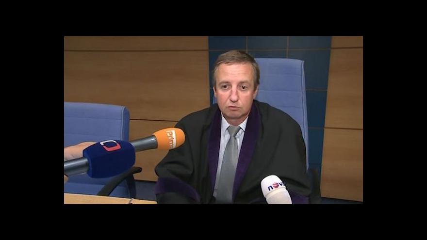 Video O případu hovoří soudce Radomír Koudela