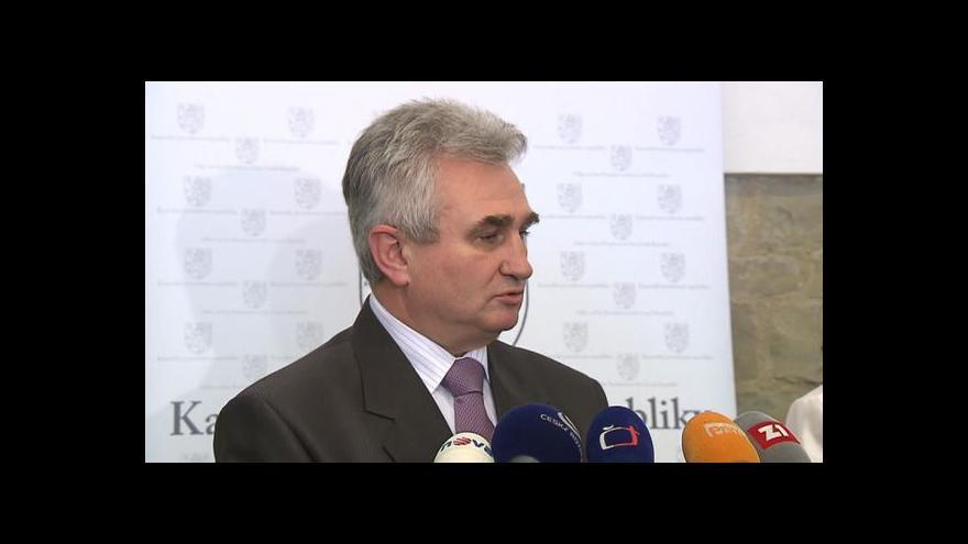 Video Brífink předsedy Senátu Milana Štěcha k aktuální politické situaci