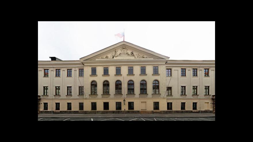Video Rozpuštění Poslanecké sněmovny tématem Událostí