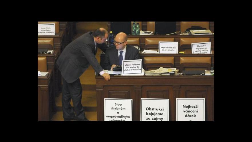 Video Co ve sněmovně bylo a bude