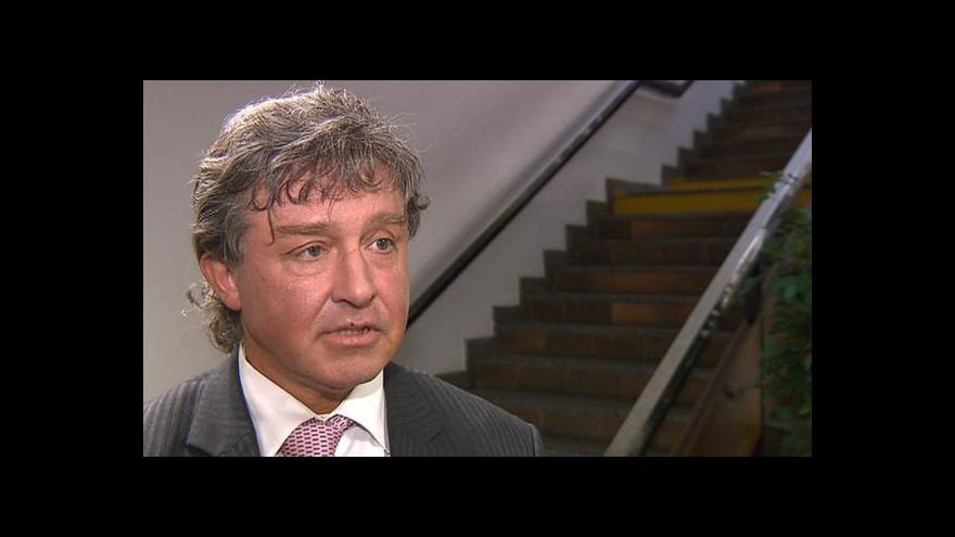 Video Jiří Dolejš ve Studiu ČT24
