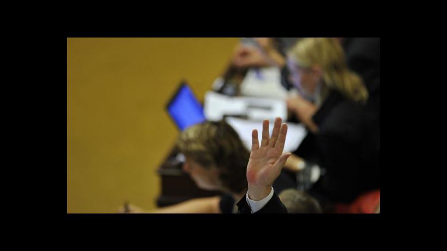 Video Pohledy politiků na zákonných opatřeních Senátu