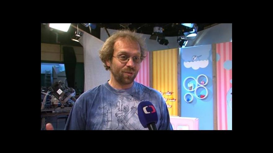 Video Režisér Pavel Šimák o natáčení pořadu Hýbánky