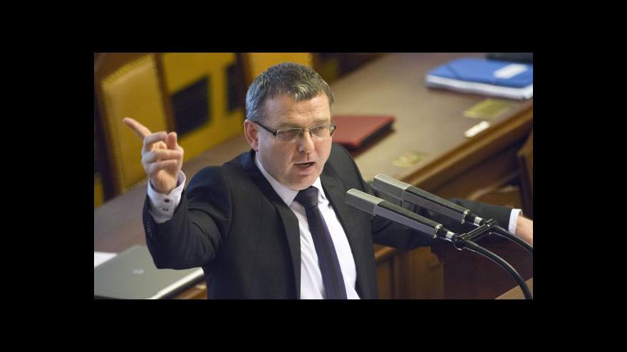 Video Rozhovor s Lubomírem Zaorálkem (ČSSD)