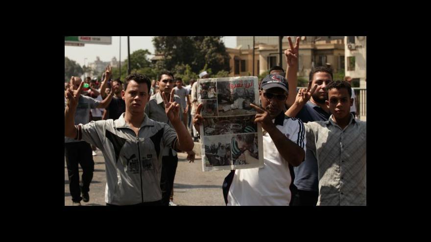 Video Události o posledním vývoji v Egyptě